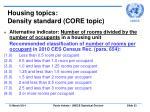 housing topics density standard core topic33