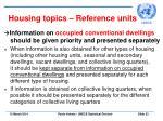 housing topics reference units23