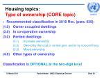 housing topics type of ownership core topic
