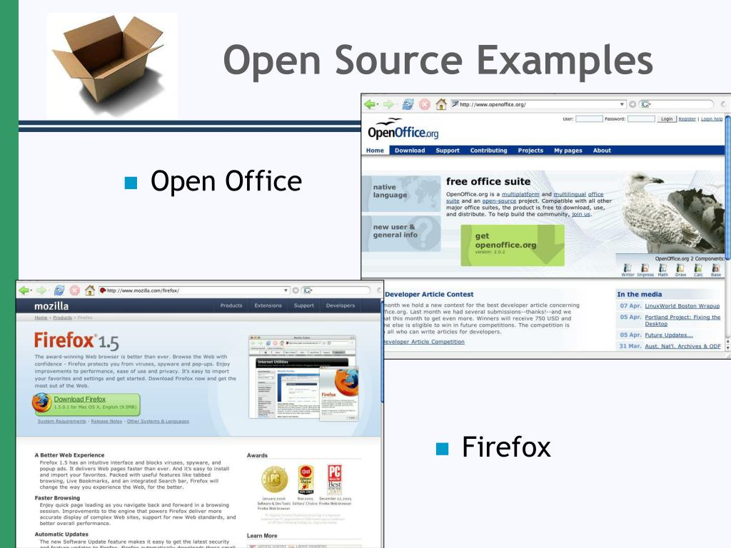 Open Source Examples