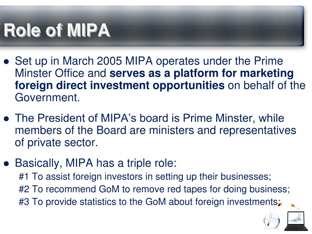 Role of MIPA