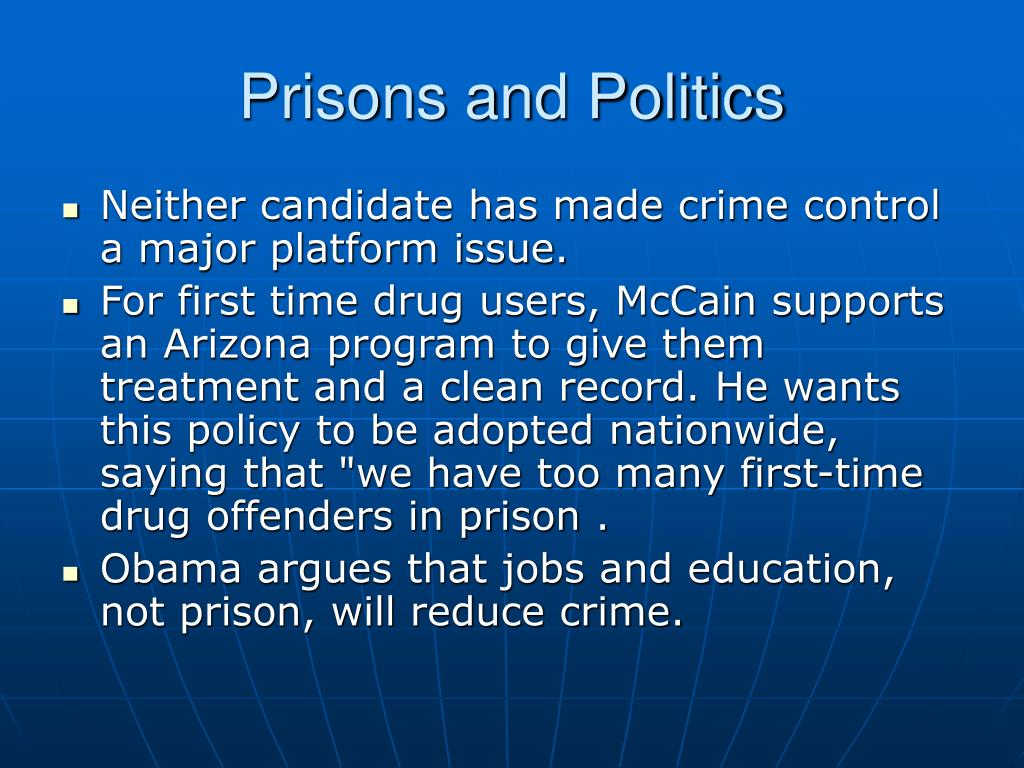Prisons and Politics