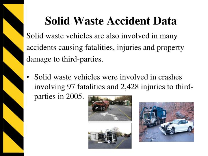 Solid Waste Accident Data
