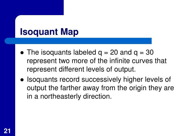 Isoquant Map