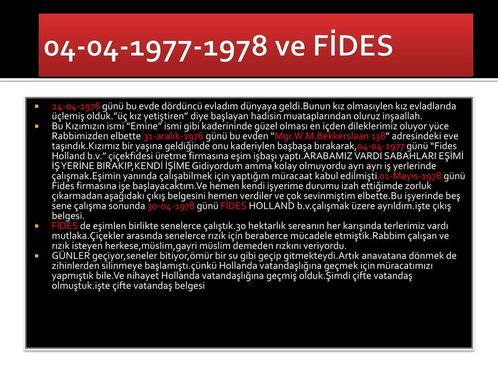 04-04-1977-1978 ve FİDES