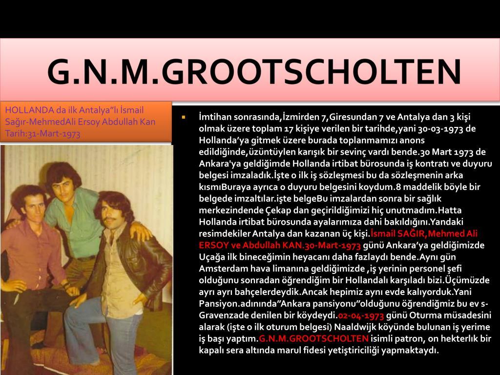 G.N.M.GROOTSCHOLTEN
