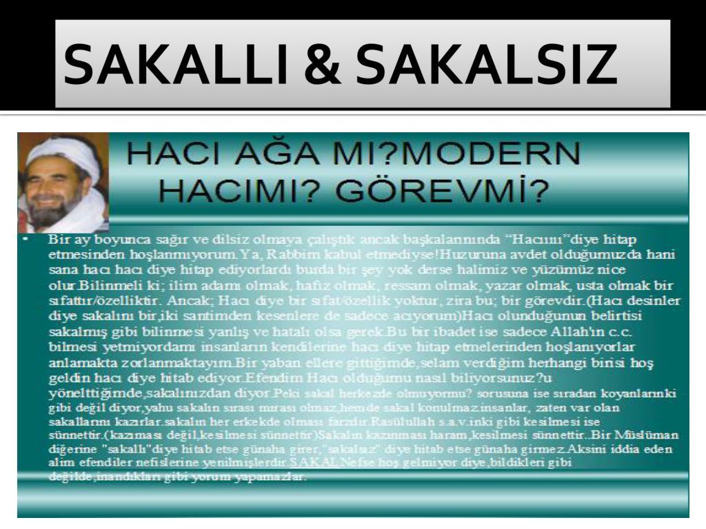 SAKALLI & SAKALSIZ