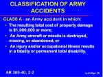 classification of army accidents28