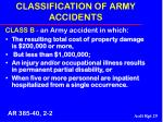 classification of army accidents29