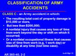 classification of army accidents31