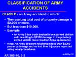 classification of army accidents32