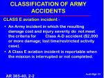 classification of army accidents33