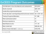 exceed program outcomes