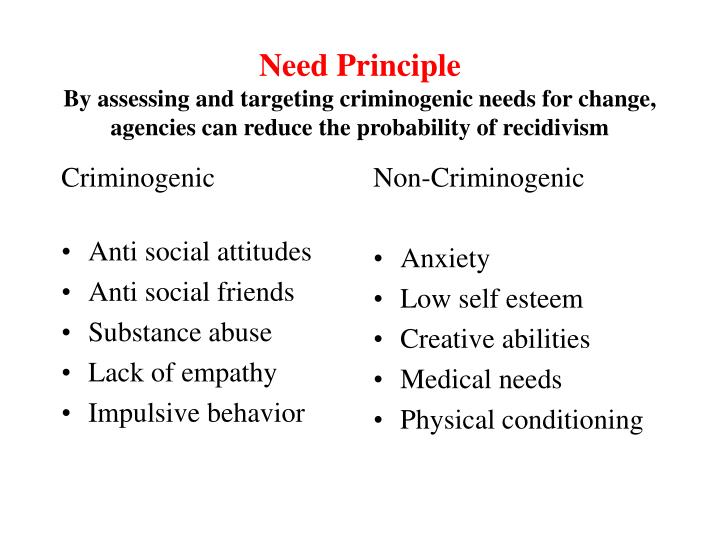Criminogenic