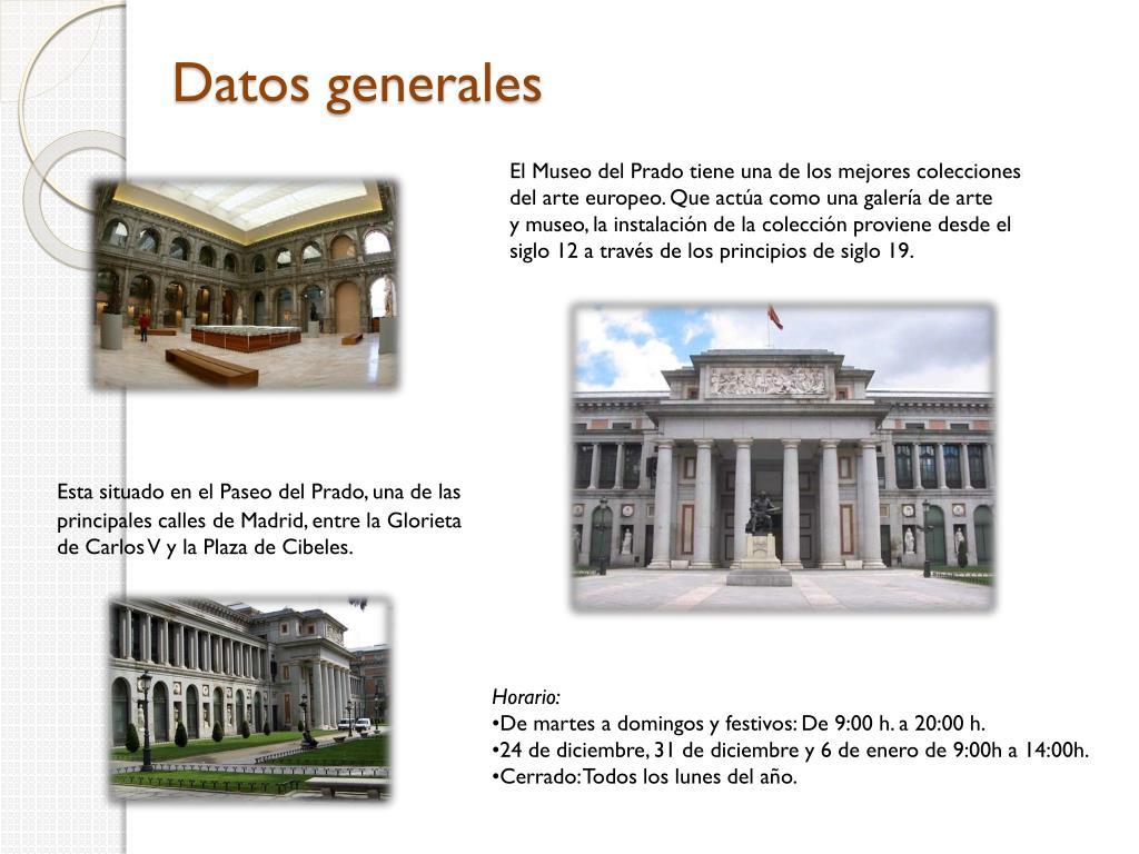 Datos generales