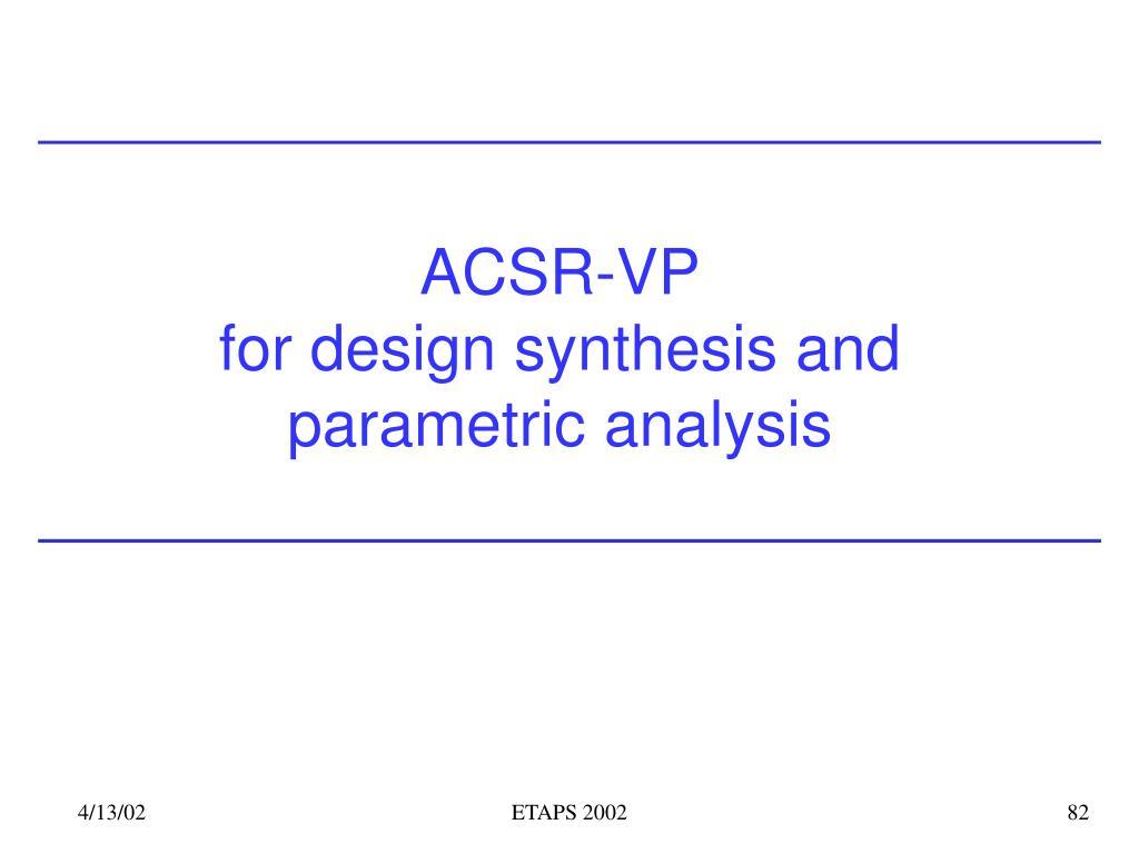 ACSR-VP