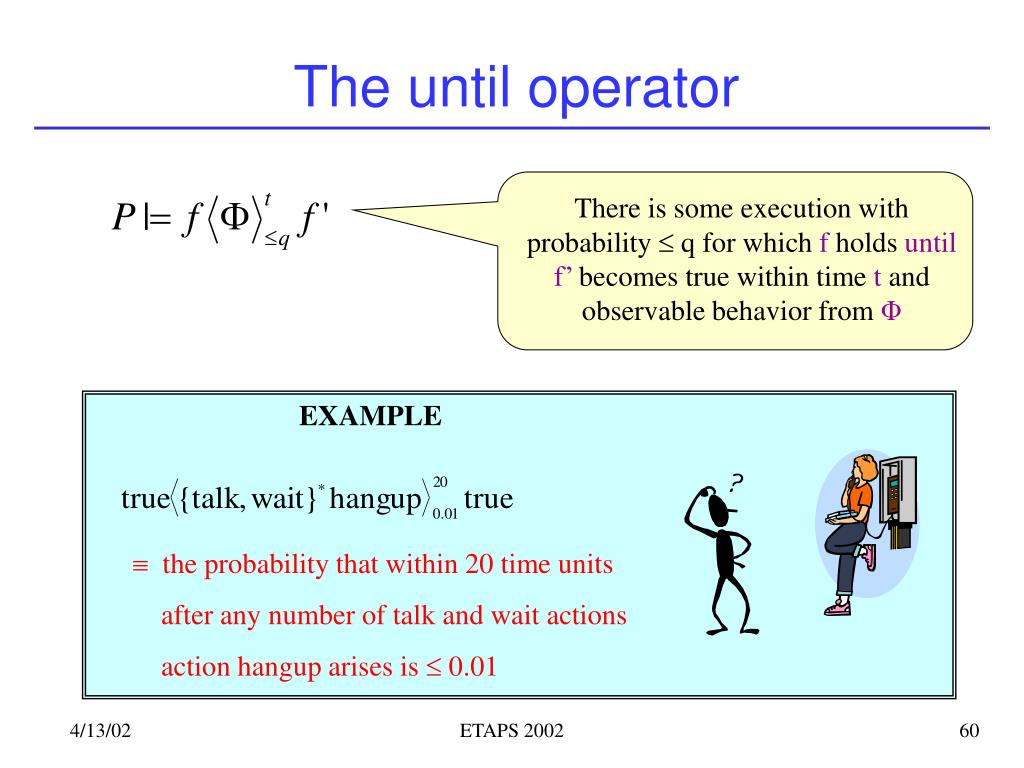 There is some execution with probability