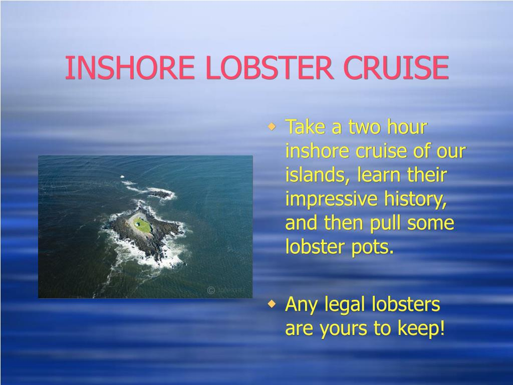 INSHORE LOBSTER CRUISE