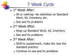 7 week cycle2