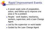 rapid improvement events1