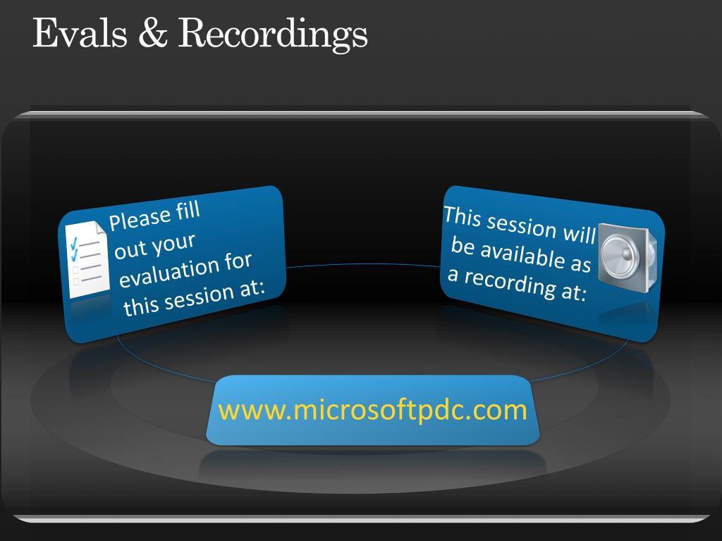 Evals & Recordings