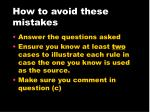 how to avoid these mistakes21
