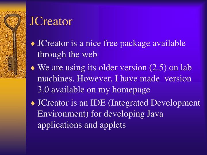 JCreator