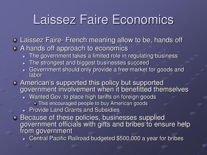 Laissez Faire Economics