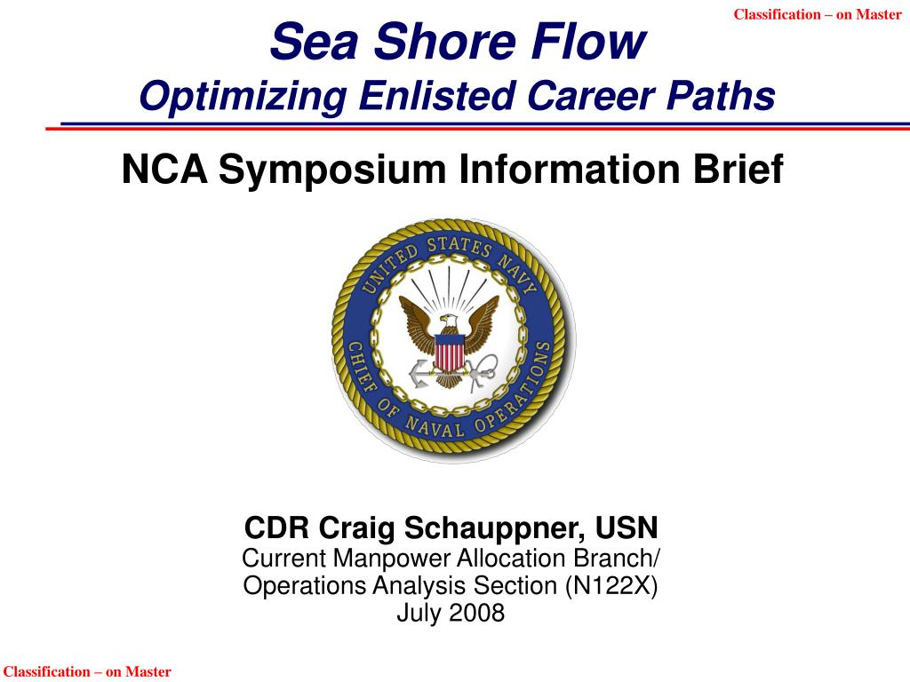 sea shore flow optimizing enlisted career paths l.