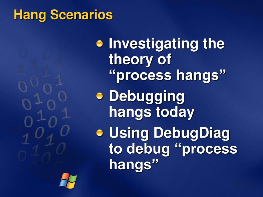 Hang Scenarios