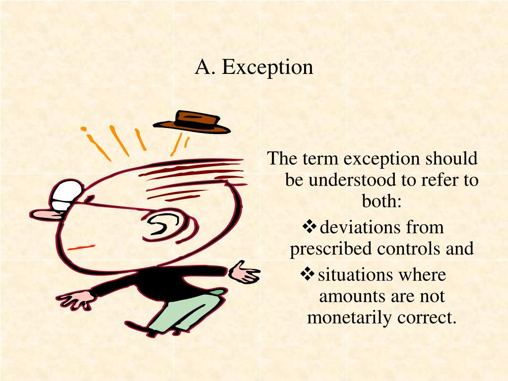 A. Exception
