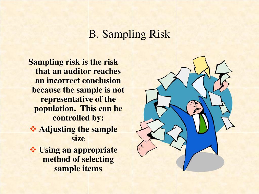 B. Sampling Risk