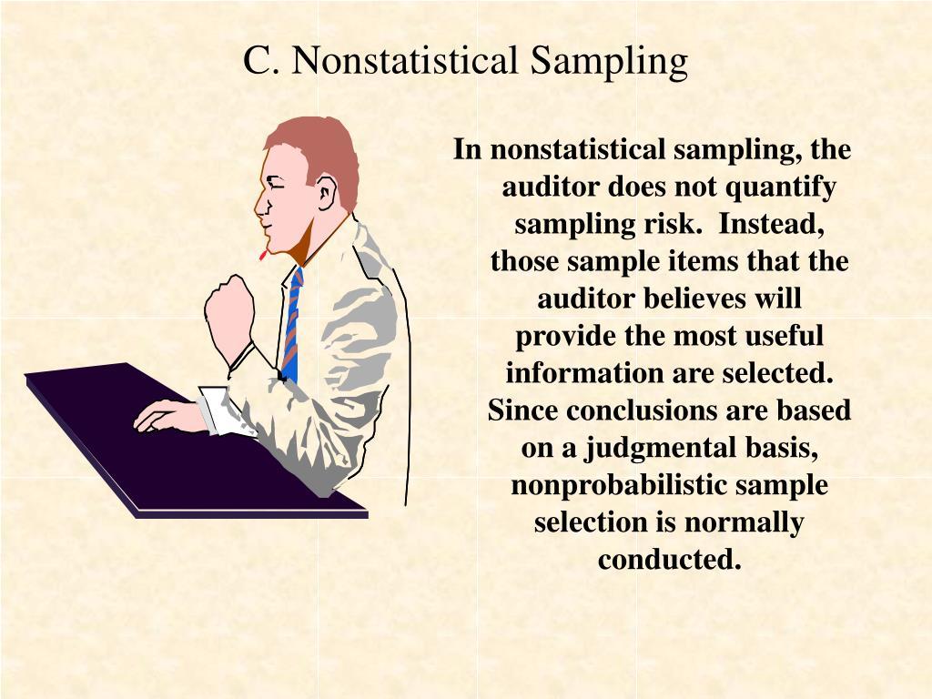 C. Nonstatistical Sampling