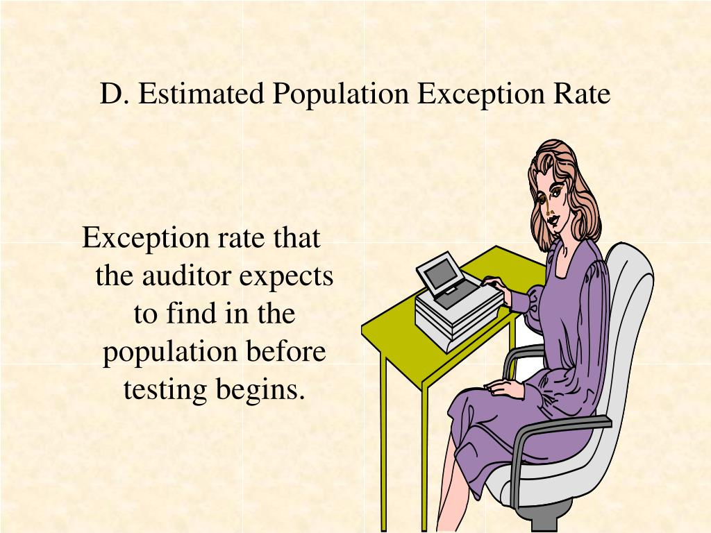D. Estimated Population Exception Rate
