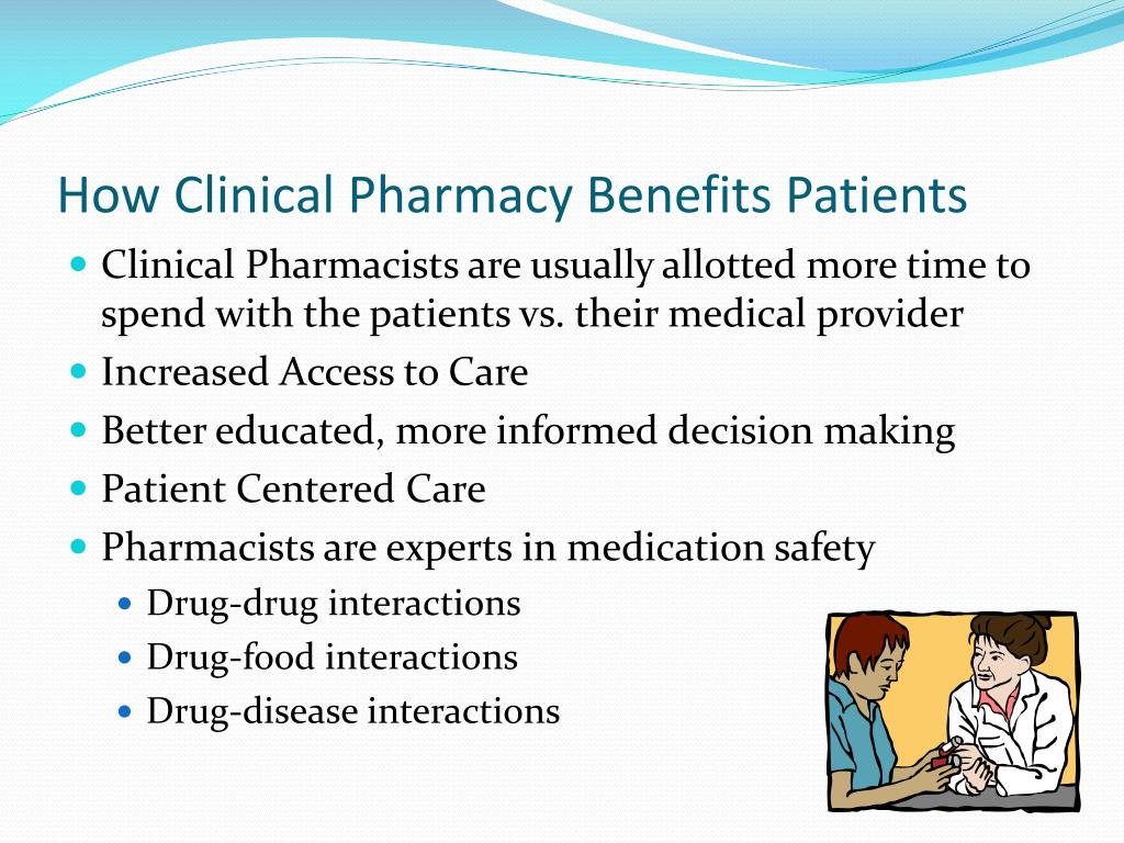 How Clinical Pharmacy Benefits Patients