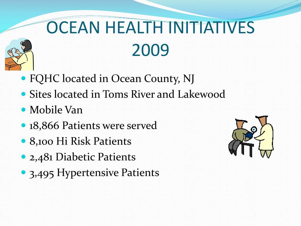 OCEAN HEALTH INITIATIVES