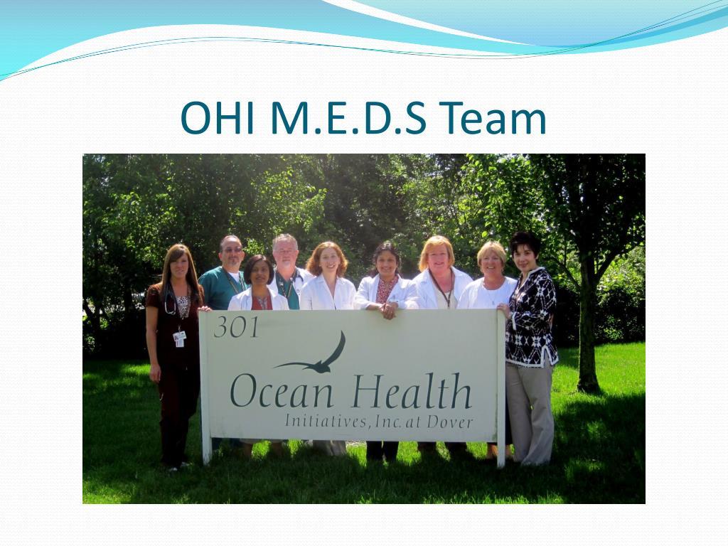 OHI M.E.D.S Team