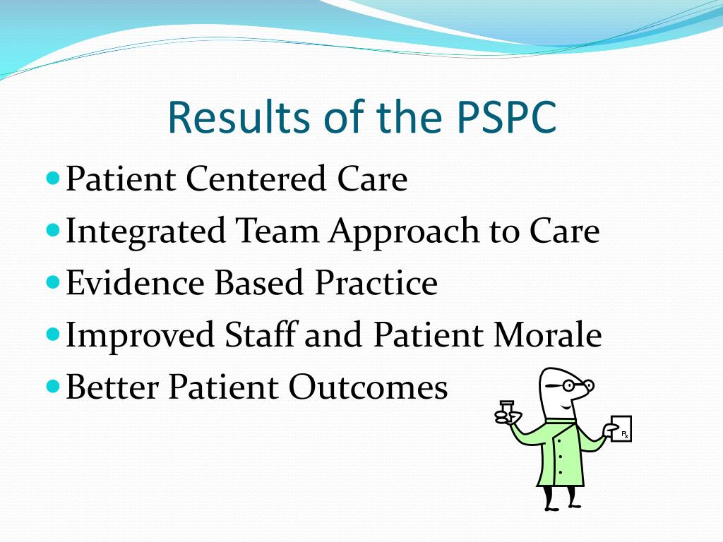Results of the PSPC