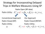 strategy for incorporating delayed trips in welfare measures using sp15
