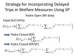 strategy for incorporating delayed trips in welfare measures using sp16