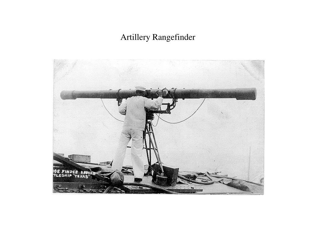 Artillery Rangefinder