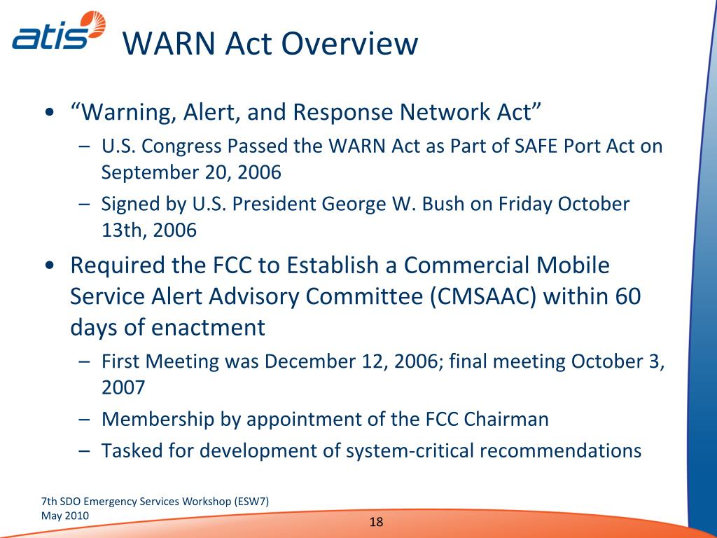 WARN Act Overview