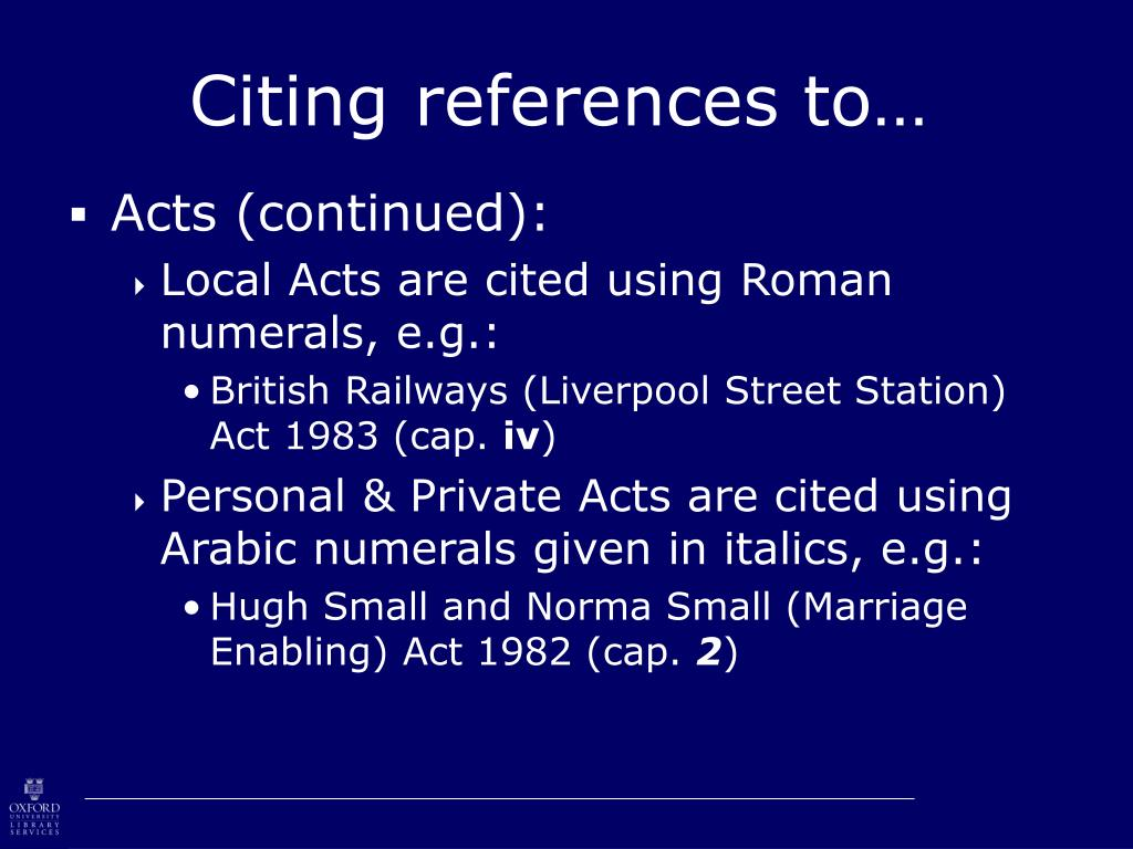 Citing references to…