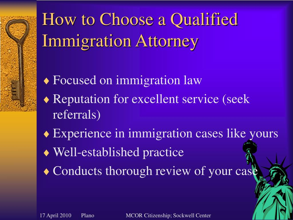 How to Choose a Qualified Immigration Attorney