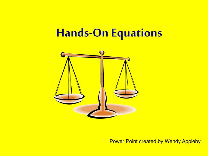hands on equations n.
