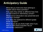 anticipatory guide30