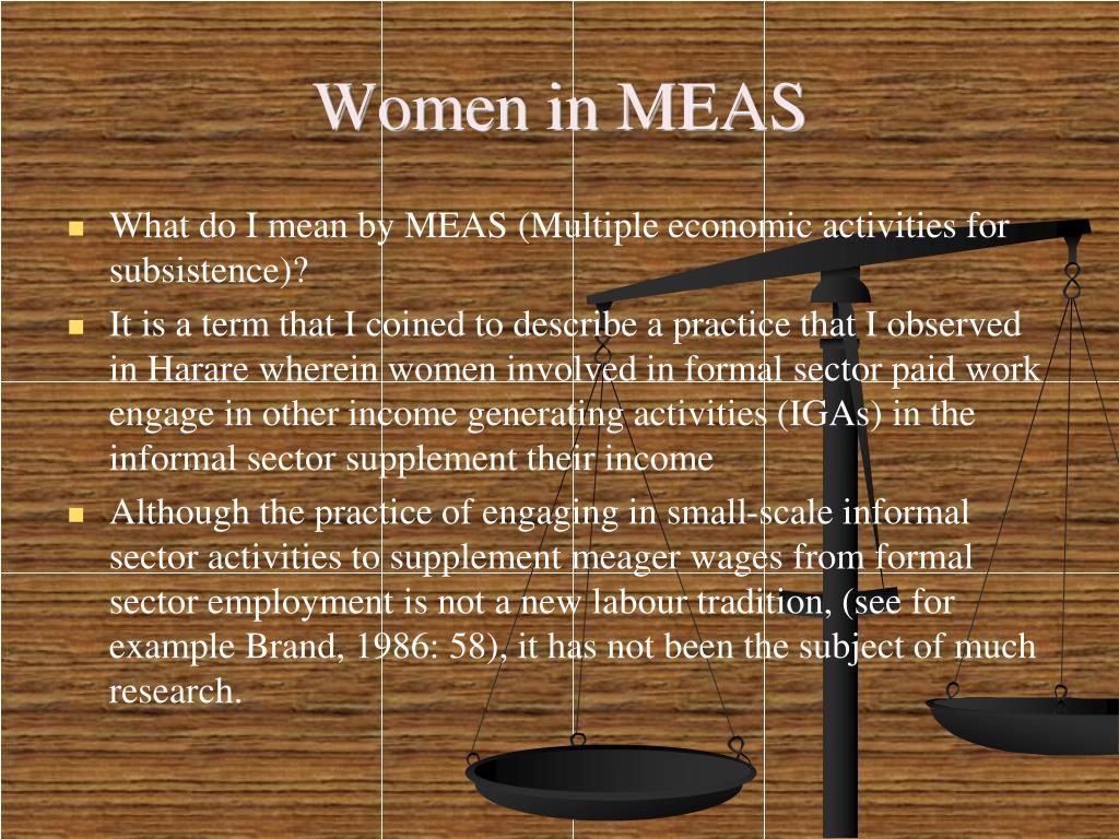 Women in MEAS