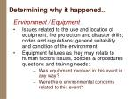 determining why it happened24