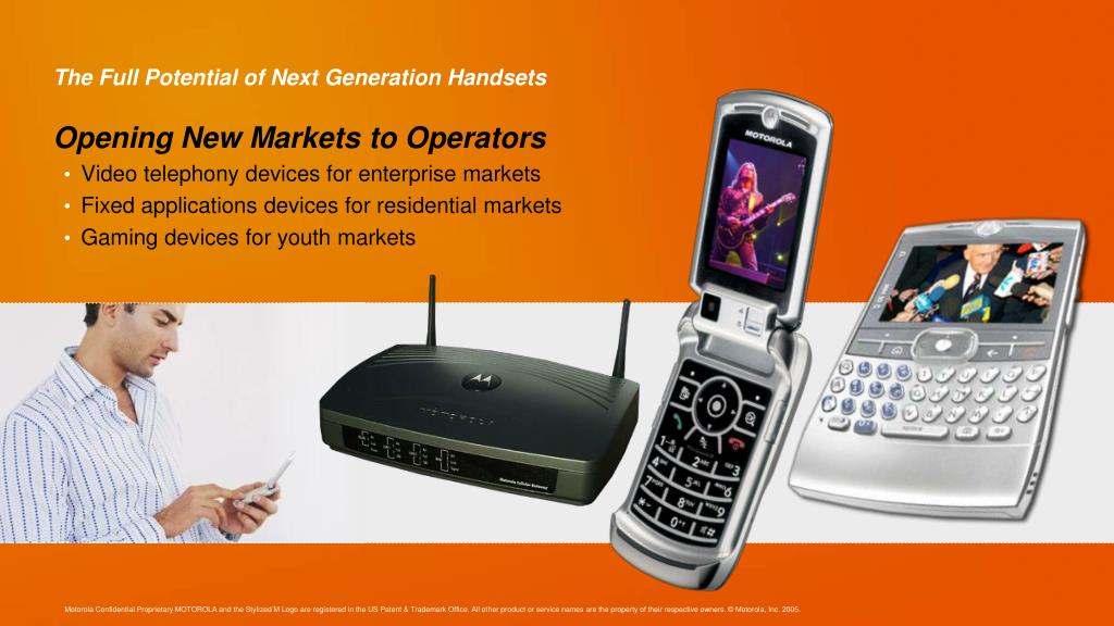 The Full Potential of Next Generation Handsets