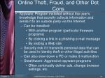 online theft fraud and other dot cons4